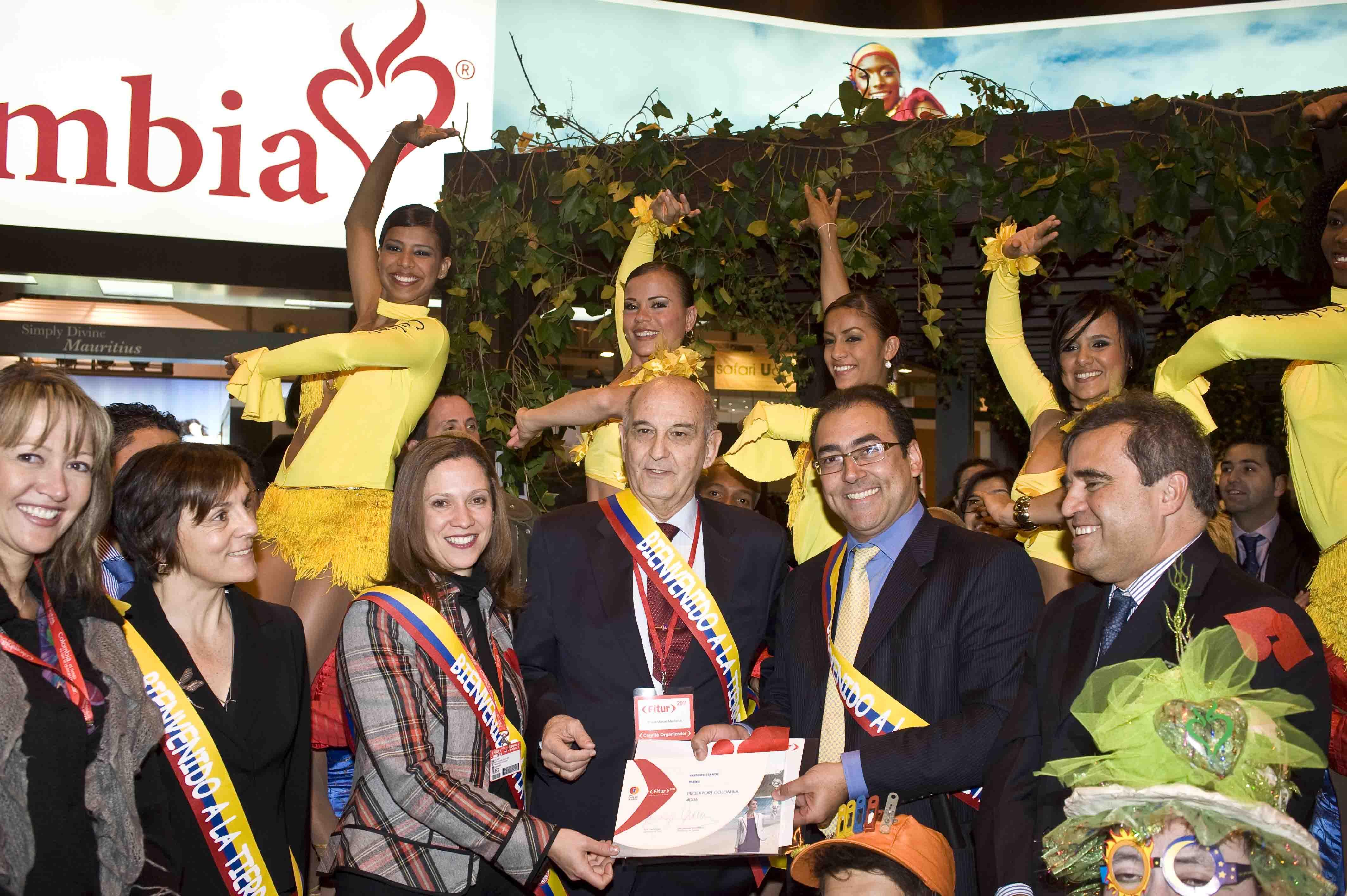 Colombia premiada por segundo año consecutivo en FITUR