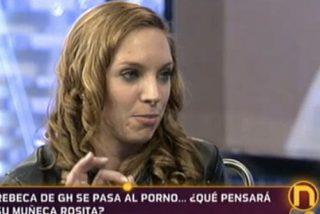 """Rebeca Perea (GH11):""""Mi muñeca Rosita es más putita que yo. En el porno cobramos las dos pero soy yo la que hace el trabajo sucio"""""""