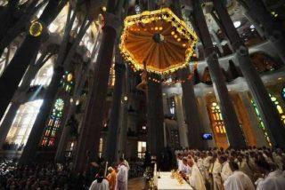 Largas colas para visitar la Sagrada Familia