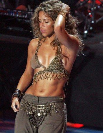 Shakira cantó en China por celebración del Año Nuevo