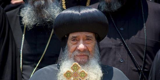 El papa copto expresa su apoyo al presidente egipcio
