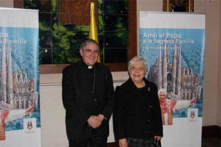 El cardenal Sistach recibe a la presidenta del movimiento de los Focolares