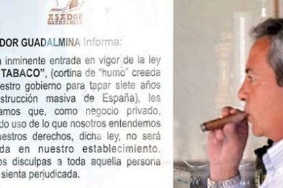 En un bar de Madrid, un inspector 'sableó' a tres fumadores y al propietario del local un total de 2.400 euros