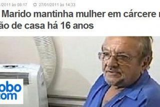 Un brasileño encierra a su mujer en un sótano durante 16 años para poder vivir con su amante