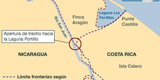 Costa Rica / Nicaragua: río revuelto sin ganancia de pescadores