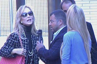 """Carmen Lomana frente a J.J.Vázquez: """"No te dije nada para lo que te mereces, me llamaste nazi y mamarracha ¡No me toques!"""""""