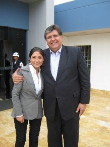 """Muchas gracias presidente por haber escuchado a mi gente de Huanta"""