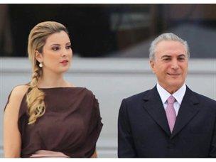 Esposa del vicepresidente brasileño roba protagonismo en la investidura de Dilma Rousseff