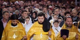 La Iglesia ortodoxa rusa celebra hoy la Navidad