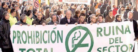 Palencia desata la rebelión contra la Ley Antitabaco