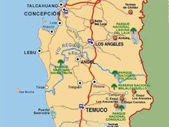 Fuerte terremoto sacude el sur de Chile