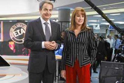 """Gloria Lomana: """"Encontré a Zapatero tranquilo, confiado y optimista"""""""