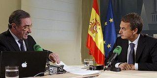 """Hermann Tertsch: """"La entrevista con ZP ha sido una conversación y Herrera tampoco le ha apretado mucho"""""""
