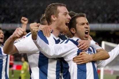 1-0. Raúl Tamudo permite soñar a la Real con Europa