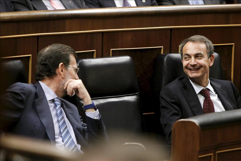 """Zapatero evita discutir con Rajoy para recordar la """"dignidad"""" y la """"unidad"""" que hubo hace 30 años"""