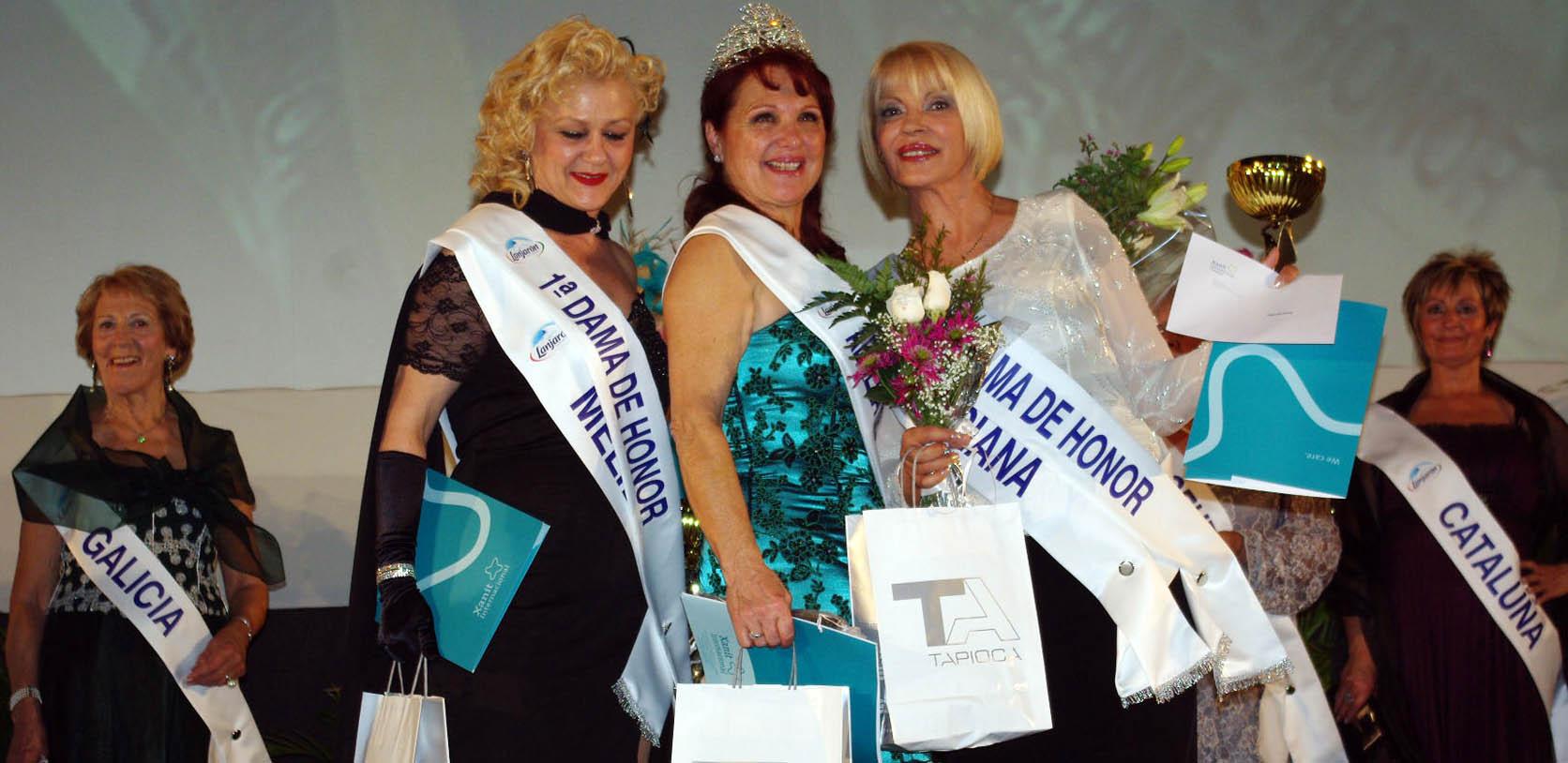 La madrileña Sonsoles Olayo se proclama 'Abuela de España' en Expojubilados 2011