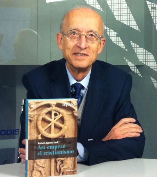 Rafael Aguirre: «El cristianismo surgió tras un proceso conflictivo y complejo de siglo y medio»