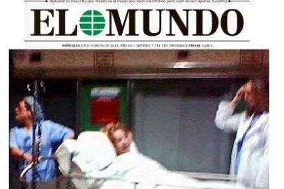 Pedrojota traspasa otra línea roja al publicar una foto de Aguirre en camilla tras ser operada de cáncer