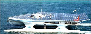 El mayor buque que funciona sólo gracias al sol