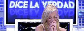 """La Campanario se echa a llorar en directo: """"Si Belén tuviese buen corazón no habría contado lo del polígrafo"""""""