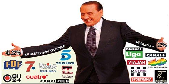 Berlusconi, propietario de Telecinco y Cuatro, acusado de prostitución y cohecho