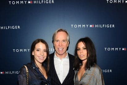 Los famosos siempre arropan a Tommy Hilfiger
