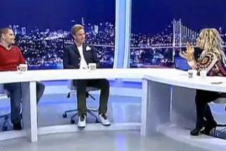 Guti se liga a la presentadora que le entrevista en directo