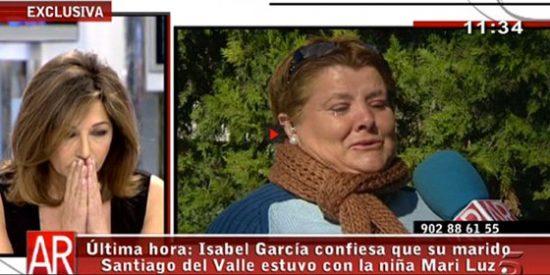 """T5 responde a Pedrojota por la confesión de la mujer del asesino de Mari Luz: """"No vale el juzgar el trabajo periodístico con distinto rasero"""""""