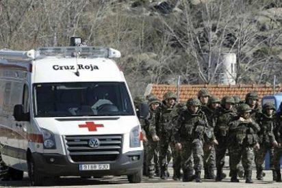Fallecen cinco militares en una explosión en la Academia de Hoyo de Manzanares en Madrid