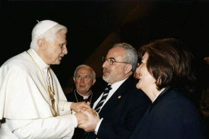 La UCAM organizará un congreso mundial dedicado al Papa Benedicto XVI
