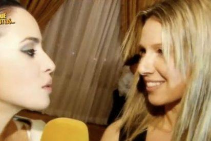 El enfado de Anne Igartiburu contra 'SLQH' al ser preguntada por las bajas audiencias de 'Destino Eurovisión'