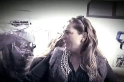 """En un ataque de histeria, Raquel Bollo intenta agredir a un invitado en 'Sálvame': """"¡Puta habrá sido tu puta madre!"""""""