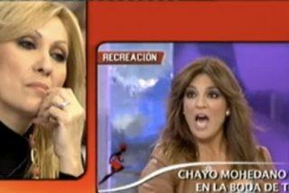 """Bochornosa 'bronca' entre Raquel Bollo y Rosa Benito en 'Sálvame': """"¡Falsa, ridícula!"""""""