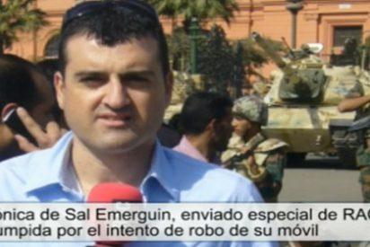 Pillaje en El Cairo a periodistas españoles