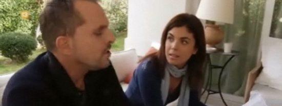 """El impertinente 'plantón' de Miguel Bosé a Samanta Villar: """"Estoy muy incómodo. Te has equivocado de programa conmigo"""""""