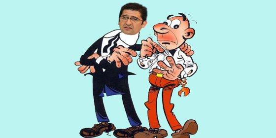 Barreda 'recupera' a Mortadelo y Filemón para espiar al PP de Ciudad Real