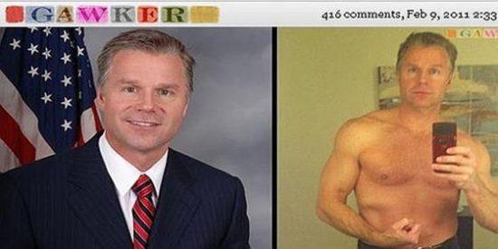 Un congresista de EE UU dimite tras subir a internet fotos suyas sin camiseta