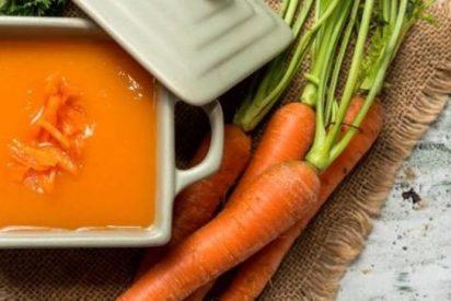 Crema de zanahoria, receta fácil