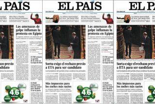 """El diario 'El País' califica al Gobierno Zapatero de """"mediocre, disparatado y torpe"""""""