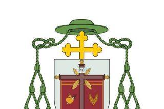 Escudo y lema episcopal de Gómez Sierra