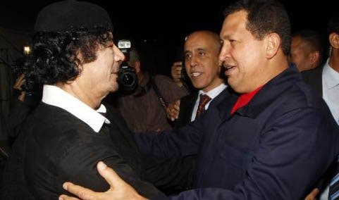 """El """"Gorila Rojo"""" apoya públicamente a Gadafi"""
