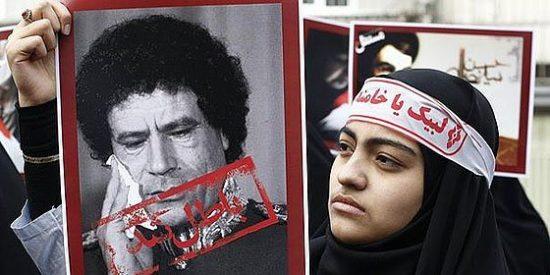 Gadafi acusa a Al Qaeda y Bin Laden de estar detrás de los rebeldes libios