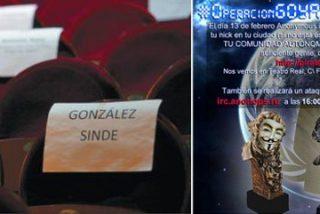 Anonymous se 'apunta' a la gala de los Goya 2011 fletando autobuses y prepara un ataque masivo en Internet
