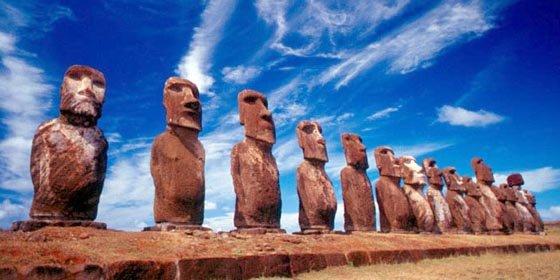 """Los """"Rapanuis"""" reclaman derechos históricos sobre la isla de Pascua"""