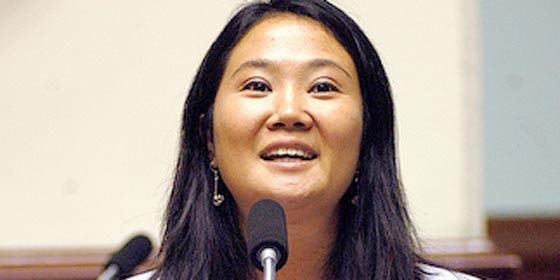 Keiko Fujimori niega que propuesta de pena de muerte tenga afán electorero