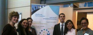 """Una representación del CEEI de Talavera presente en la reunión de """"Erasmus for Young Entrepreneurs"""" en Bruselas"""