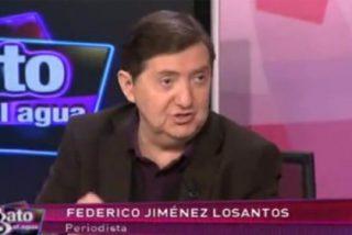 'El gato al agua', con Losantos, duplica la audiencia de la entrevista a Rajoy en Veo 7