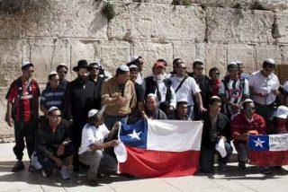 Los mineros chilenos agradecen en Jerusalén el milagro de su rescate