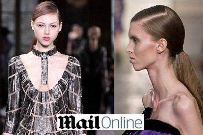 """El diario británico 'Daily Mail' clama contra """"la extrema delgadez"""" de las modelos en la London Fashion Week"""