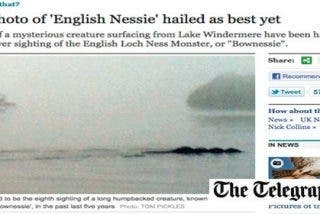 Una fotografía resucita el debate sobre la existencia del monstruo 'Nessie inglés'